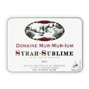 Domaine Mur-Mur-Ium Syrah Sublime Vin de Pays du Vaucluse