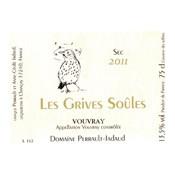 """2014 Domaine Perrault-Jadaud Vouvray """"Les Grives Soules"""" Sec"""