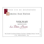 "2013 Domaine Jean Guiton Volnay ""Les Petits Poisots"""