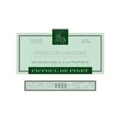 "2014 Les Costieres de Pomerols Picpoul de Pinet ""HB"""
