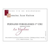 "2012 Domaine Jean Guiton Pernand-Vergelesses 1er ""Les Vergelesses"""